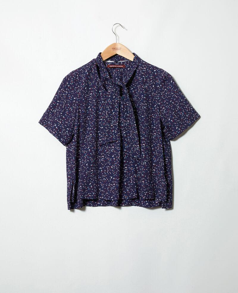 Blusa con tira desmontable Confetti ink navy Ipexo