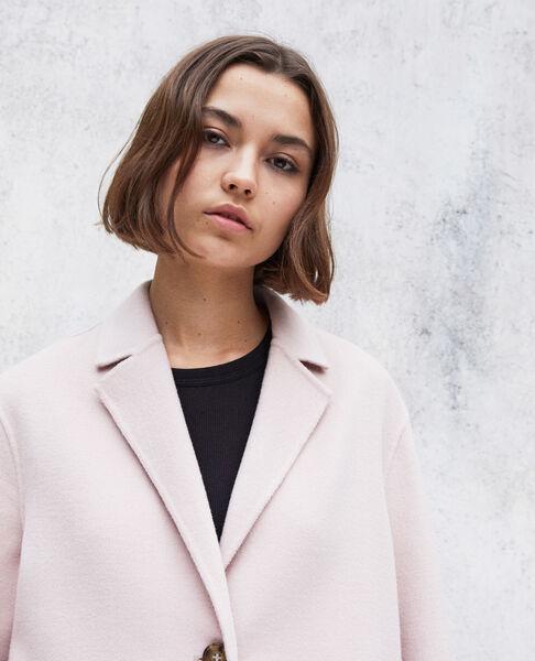 Comptoir des Cotonniers - Abrigo de doble cara Pink icing - 5