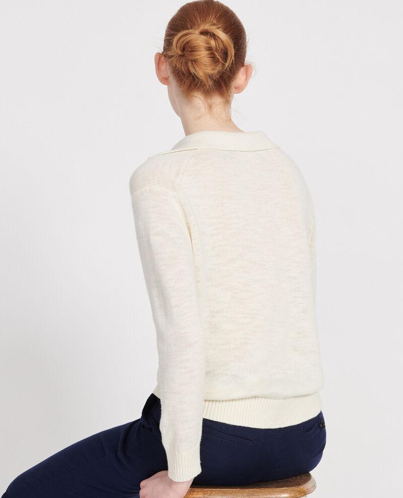 Jersey con lino Gardenia Lamande