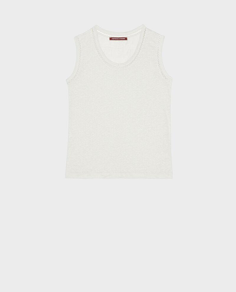 Camiseta de lino de jersey con tirantes Gardenia Lespa