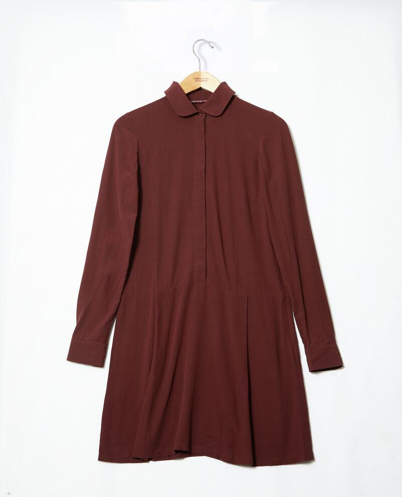 Robe coupe droite Marrón 9giorgo