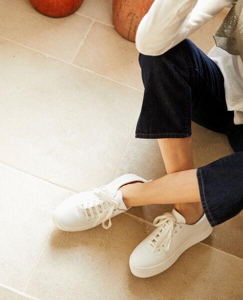 Comptoir des Cotonniers - Sneakers con plataforma Blanco - 1