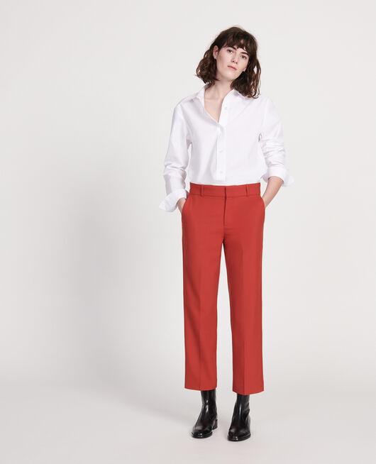 Pantalón masculino de lana lisa KETCHUP