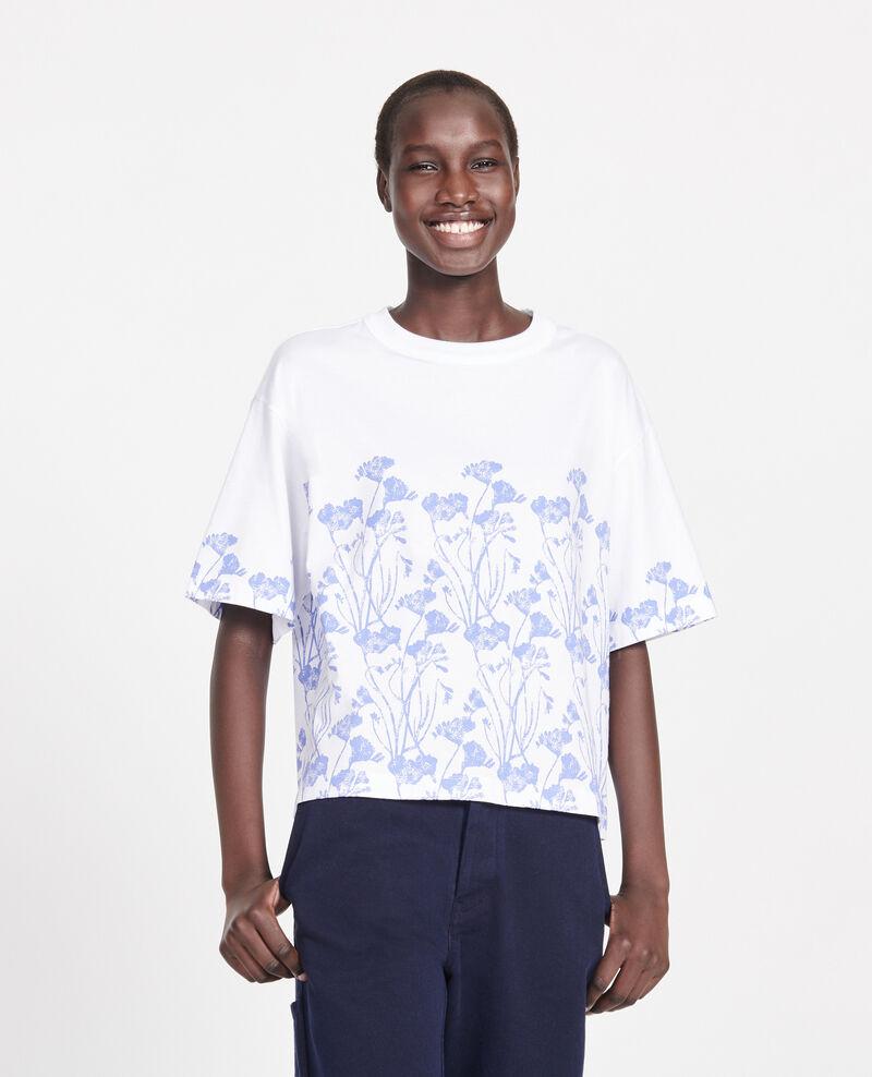 Camiseta de algodón Empreinte gardenia jewel Lenoyera