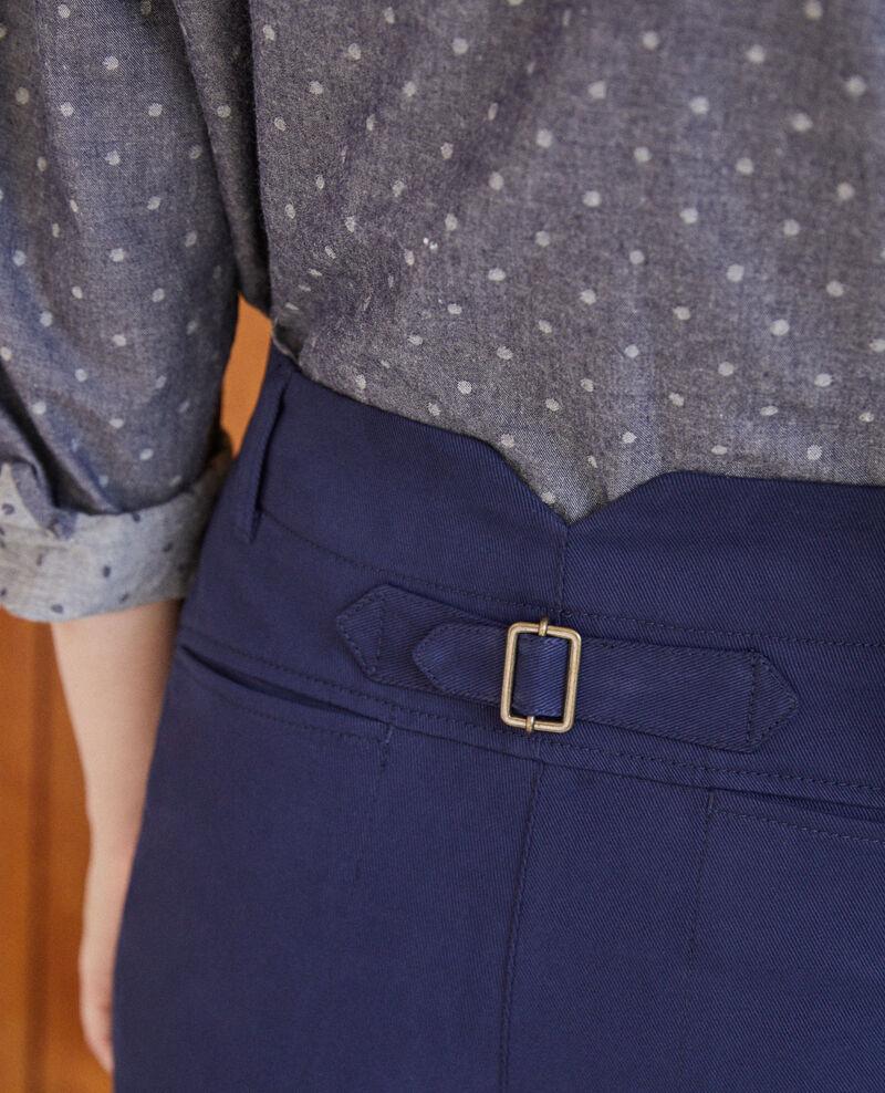 Pantalones chinos Peacoat Gabini