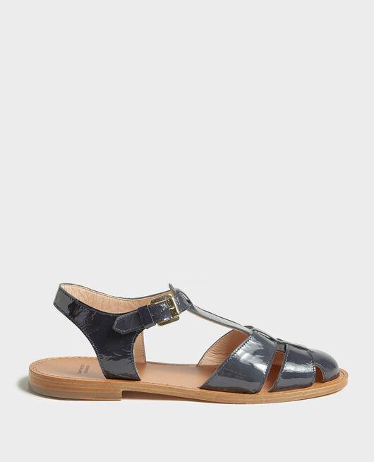 Sandalias de charol MARITIME BLUE