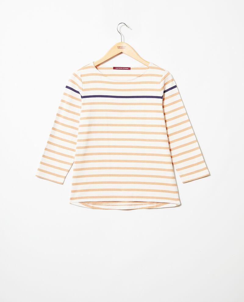 Camiseta de rayas Camel Isteria