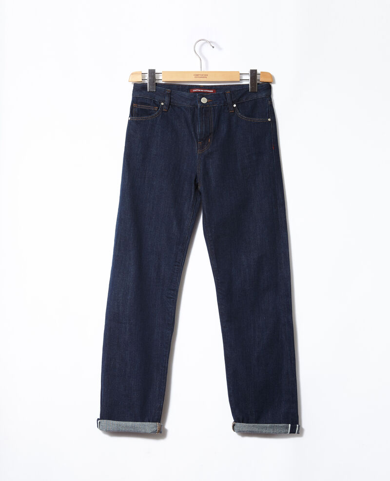 Jeans real straight Azul Gobert