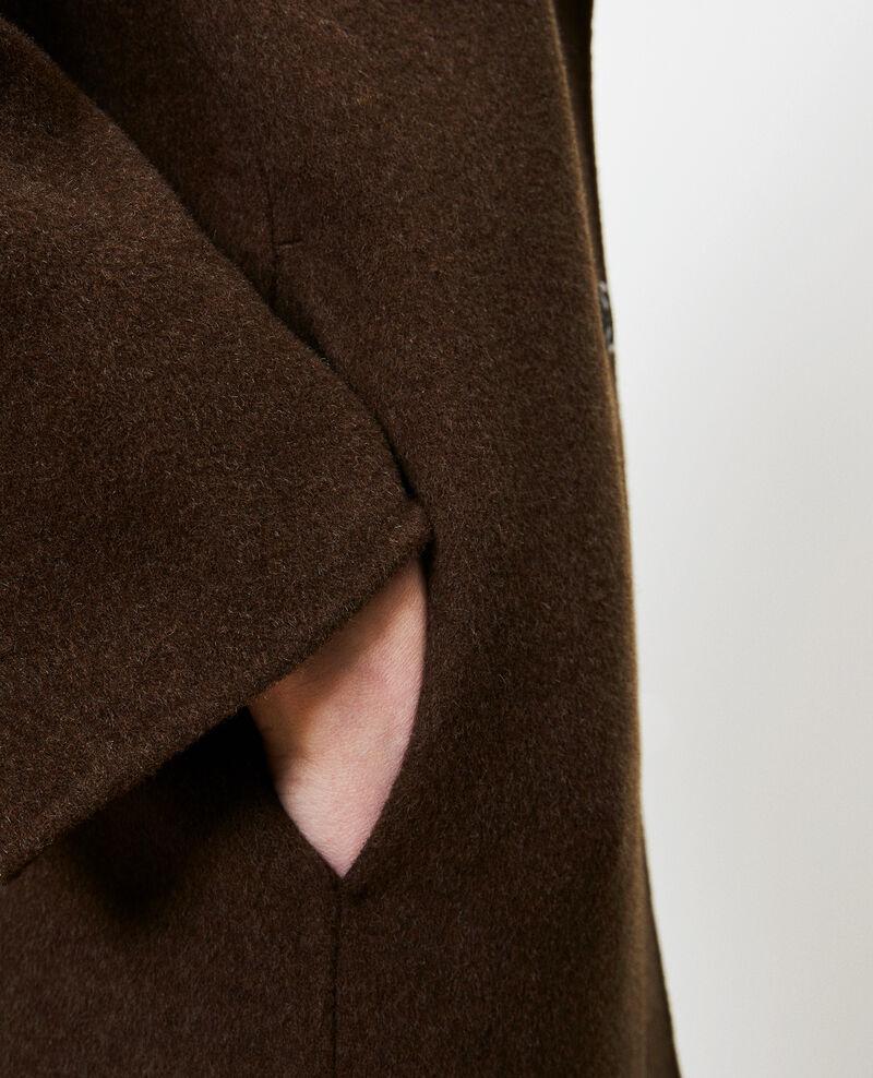 Abrigo de lana Kaki Maclas
