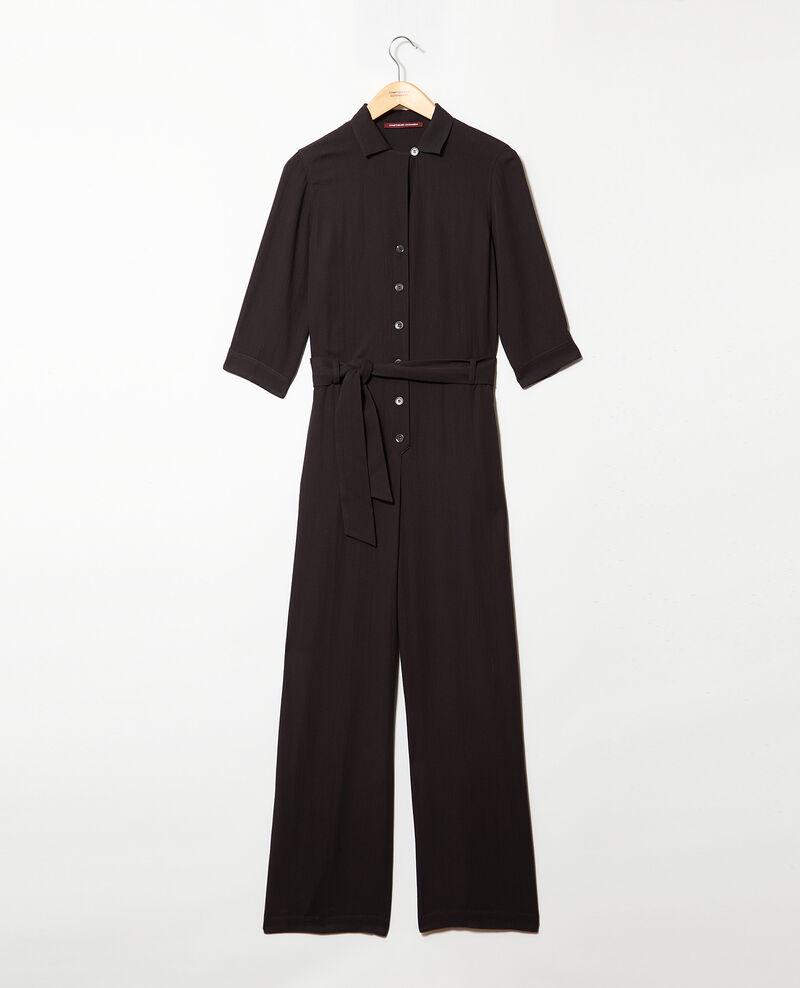 Combinaison col tailleur Noir Ilorance