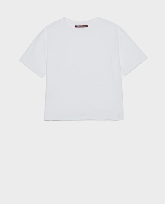 Camiseta oversize OPTICAL WHITE