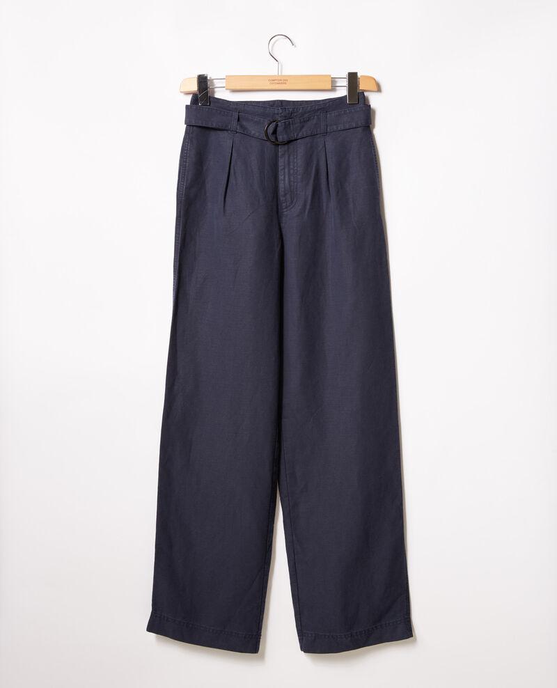 Pantalón ancho Navy Figuerie
