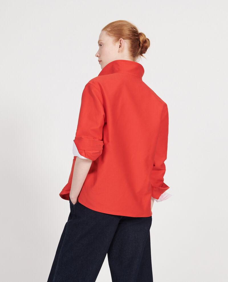 Chaqueta de algodón Fiery red Louatre