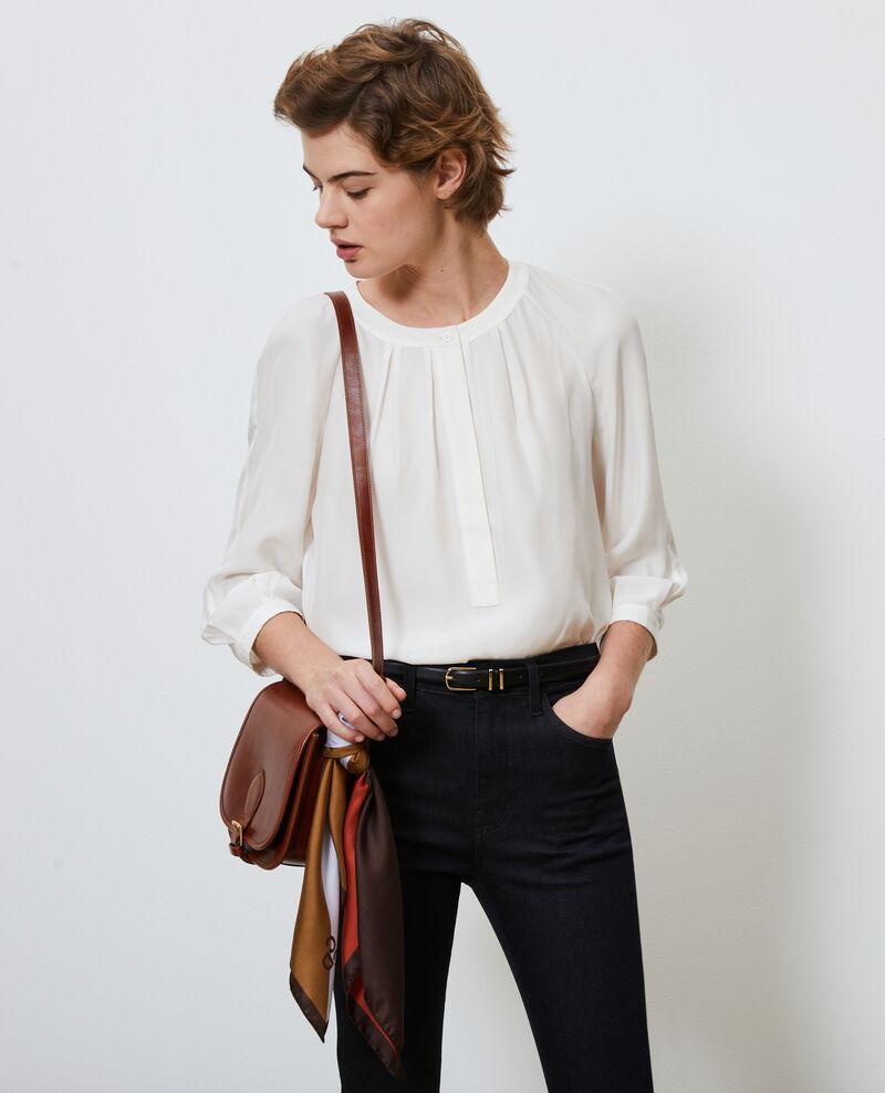 Blusa de seda amplia Gardenia Nadillac