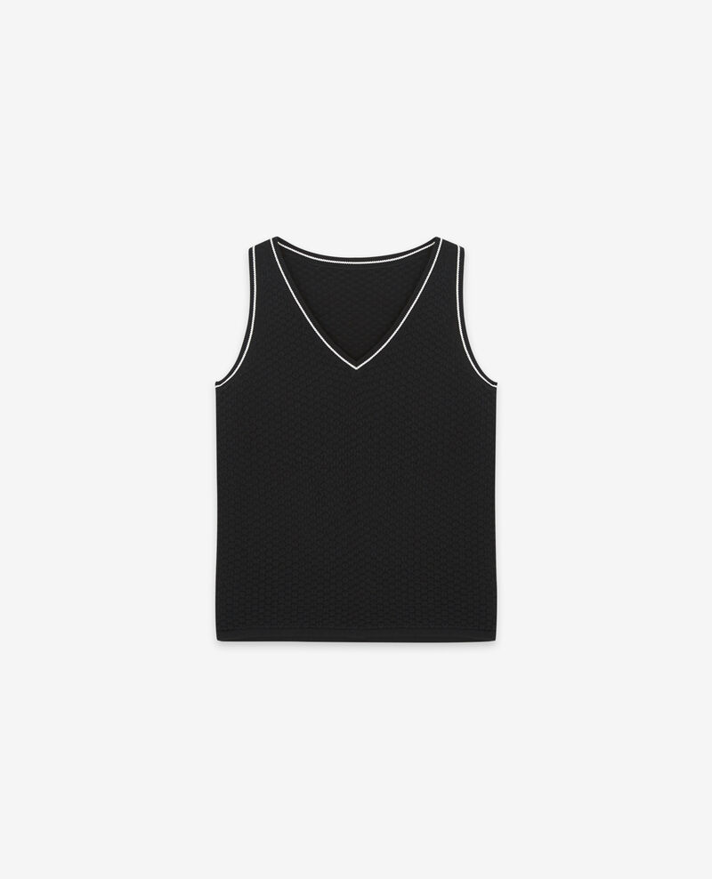 Jersey sin mangas Noir Dabord