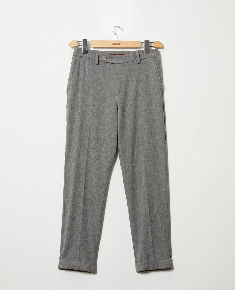 Pantalón corte carrot Middle grey Jokyo