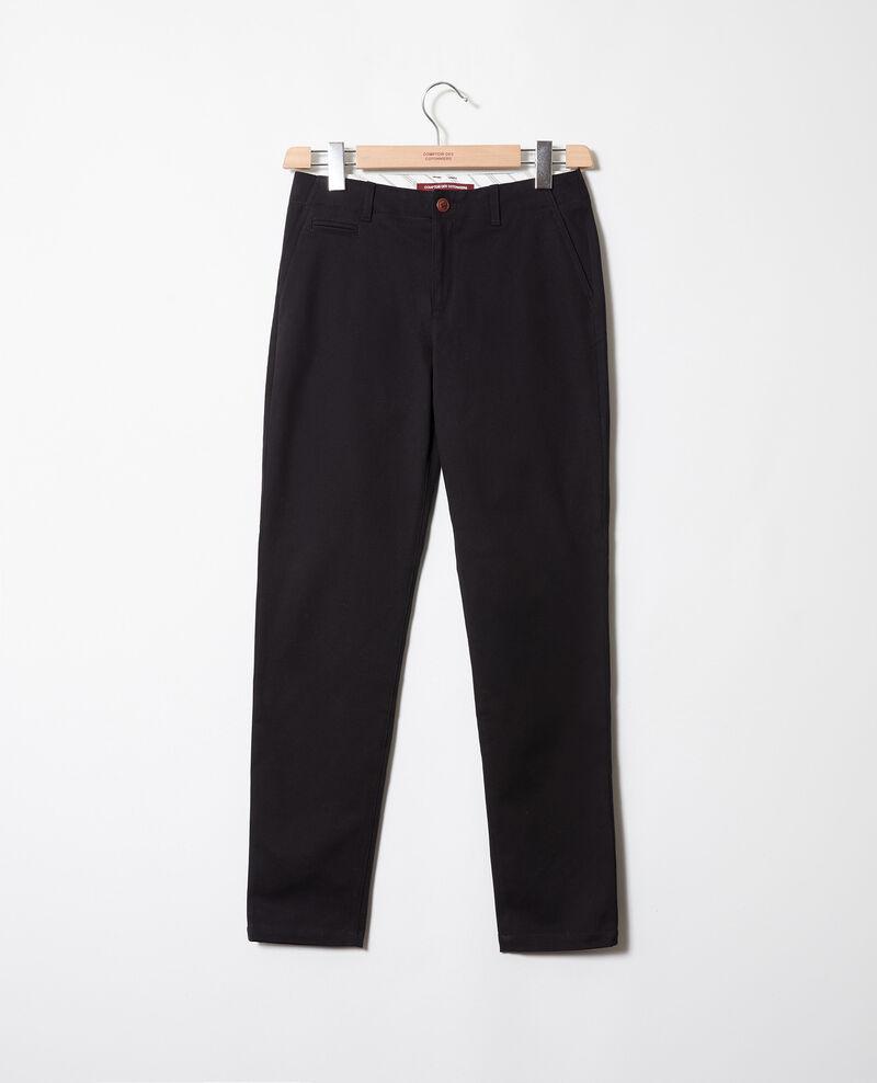 Pantalón de corte recto Noir Jino