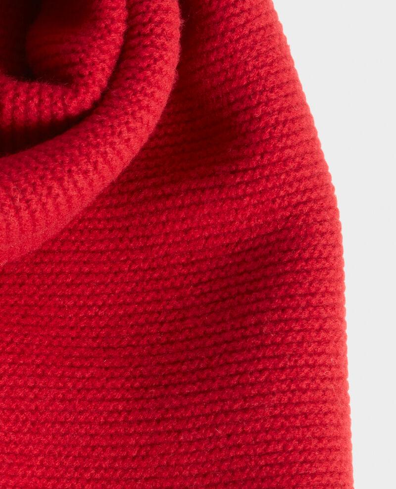 Bufanda larga de lana Royale red Moiron