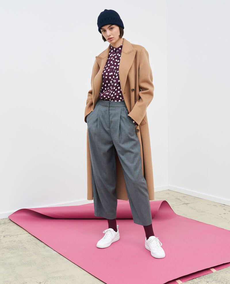 SYDONIE - BALLOON - Pantalón de pierna ajustada Medium grey melange Paluges