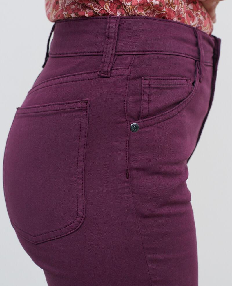 DANI - SKINNY - Jeans talle alto con 5 bolsillos Potent purple Pozakiny