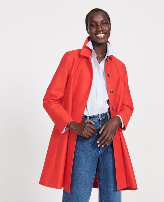 Abrigo de algodón FIERY RED