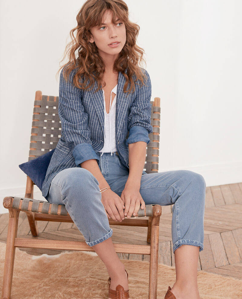 Jeans corte vintage Alpine blue Farrago