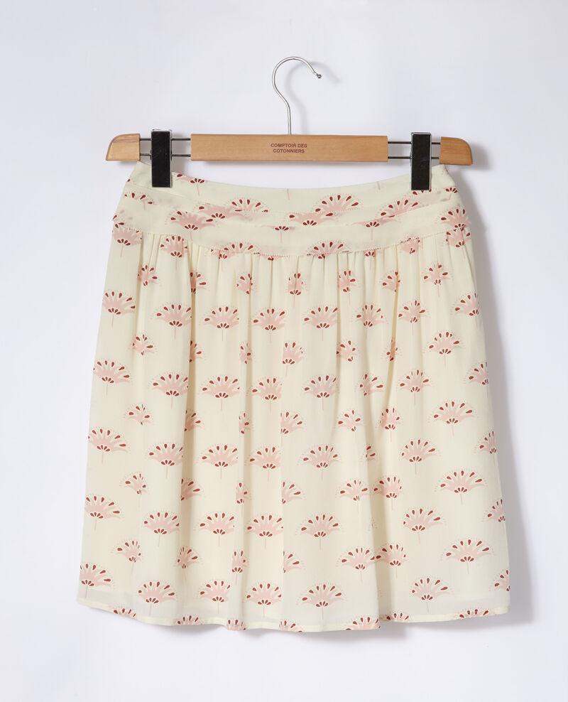 Falda corta Blanco Gingembre