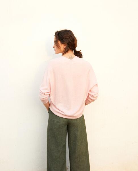 Comptoir des Cotonniers - Jersey con cachemir Pink icing - 3