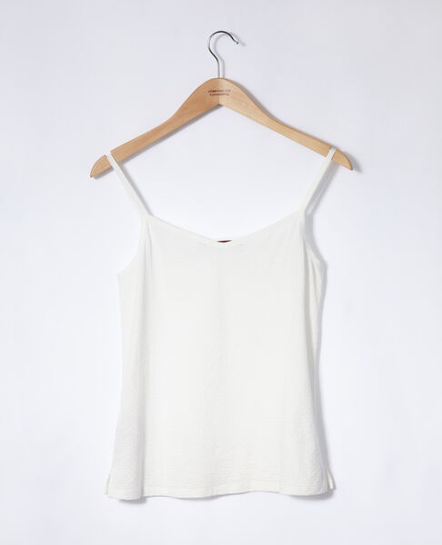 Comptoir des Cotonniers - Camiseta con tirantes finos Blanco - 2