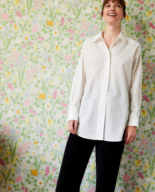Camisa larga oversize COCONUT MILK