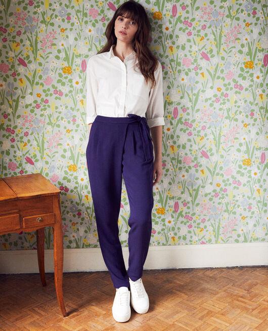 Pantalón estilo árabe EVENING BLUE