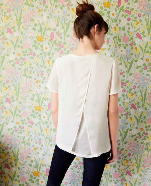 Camiseta de dos materiales OFF WHITE
