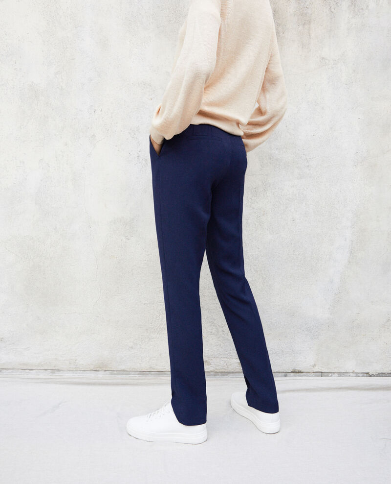 Pantalón corte carrot Ink navy Itigone