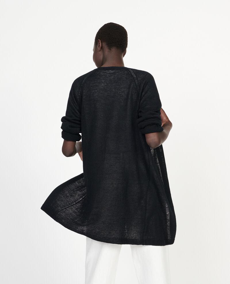 Chaqueta de lino Black beauty Lalima