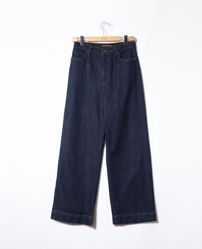 Jeans Wide full length Azul Glin