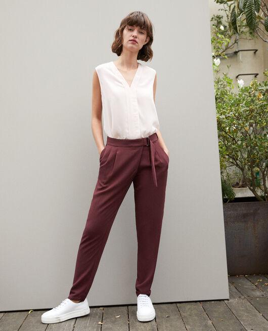 Pantalón estilo árabe  DECADENTE CHOCOLATE