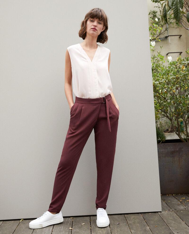 Pantalón estilo árabe  Marron Fetera