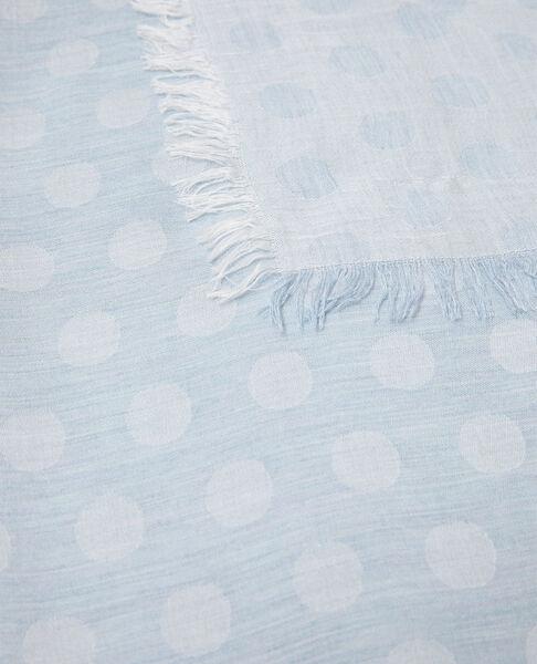 Comptoir des Cotonniers - Fular con lunares Sky blue - 3