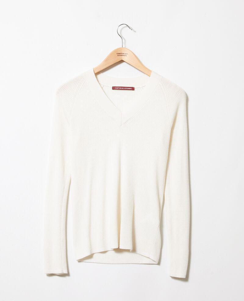 Jersey con cuello de pico Off white Jessou