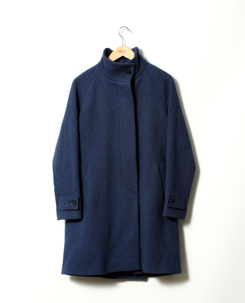 Abrigo con cuello subido Peacoat Goyave