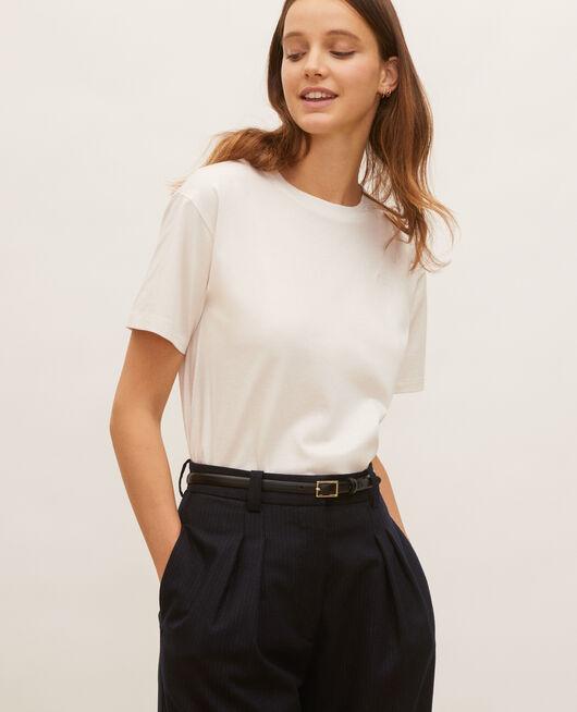 Camiseta oversize de algodón manga corta  JET STREAM