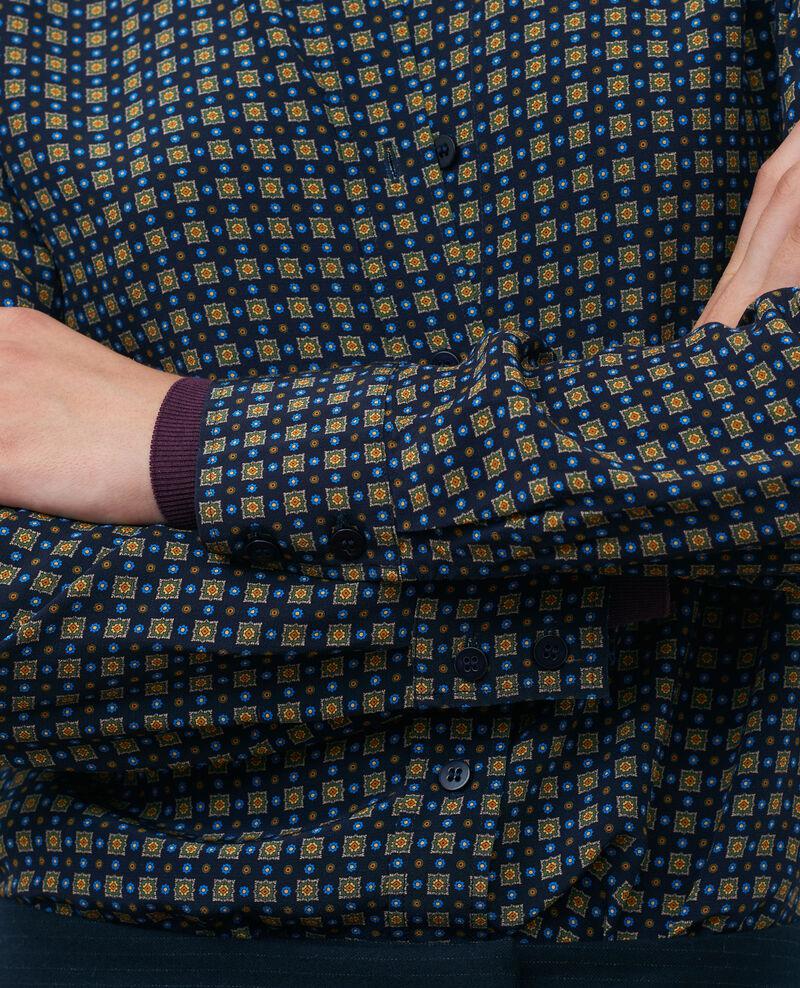 Camisa estampada Cravate green Nabilie