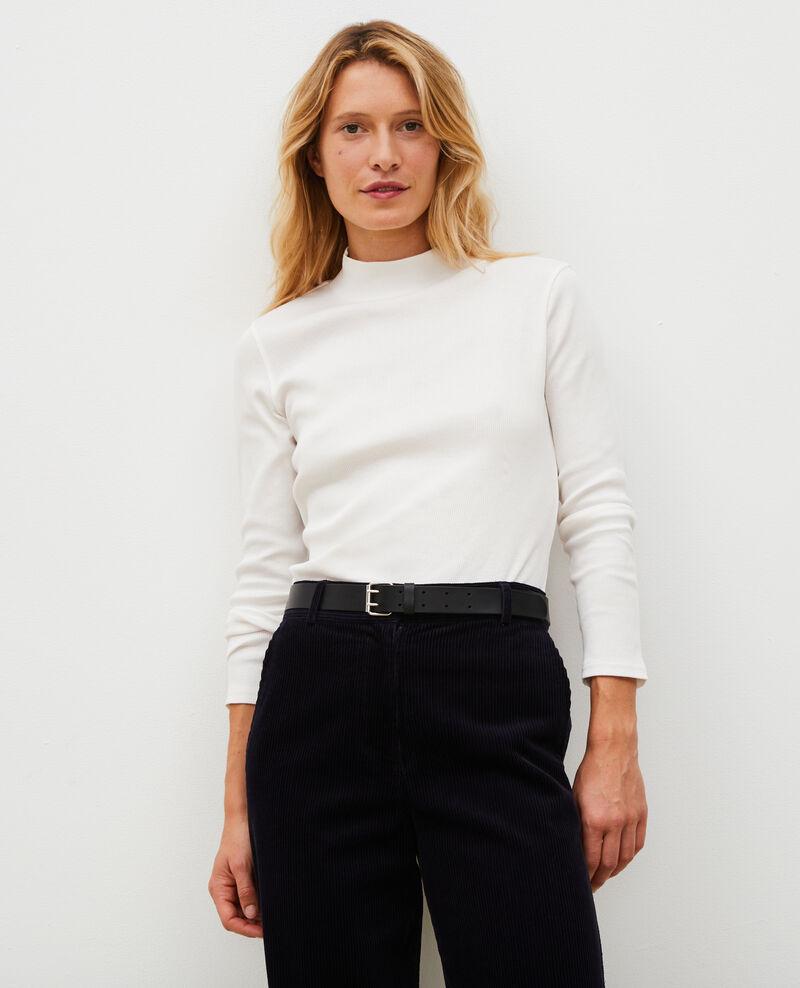Jersey manga larga de algodón stretch Jet stream Marval