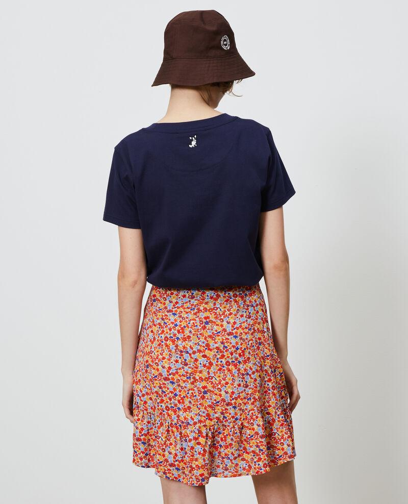 Camiseta de algodón Maritime blue Nyer