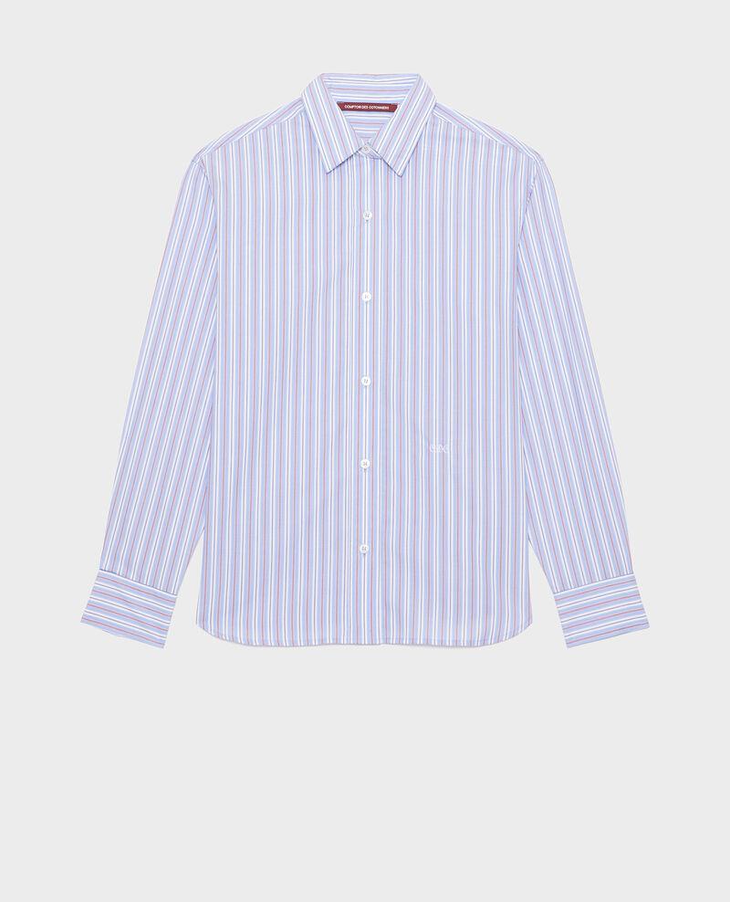 Camisa boyish de algodón Popeline stripes Lynde