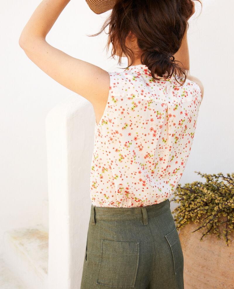 Camisa sin mangas de algodón Primula ow Imula