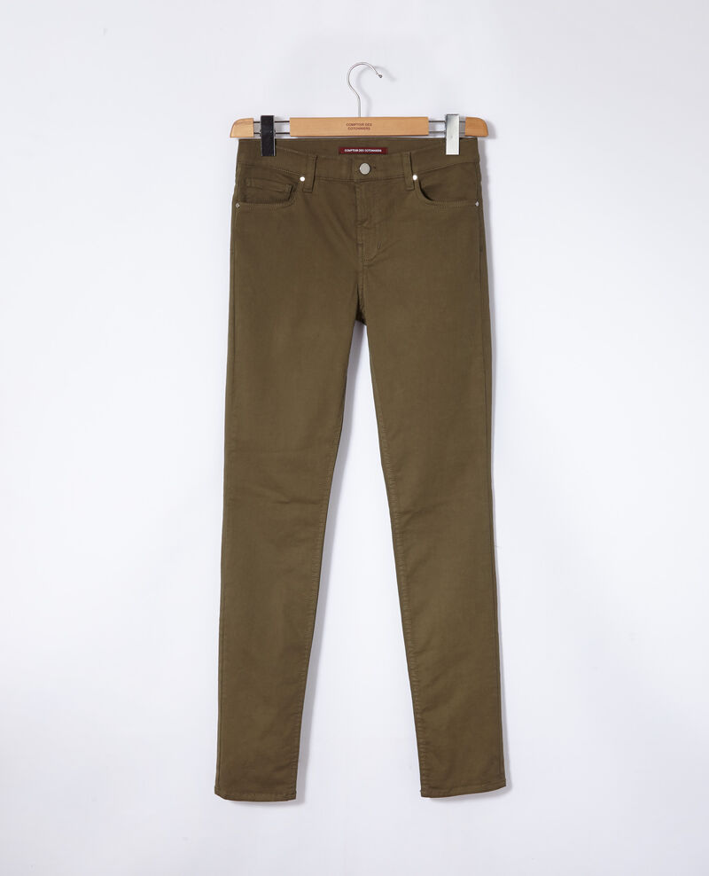 Jeans corte slim Olive night Goneto