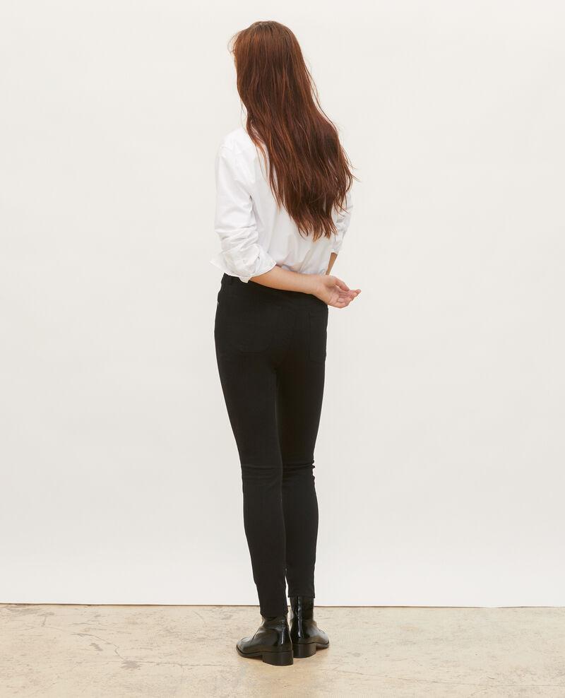 SKINNY - Jeans 5 bolsillos Black beauty Mozakiny