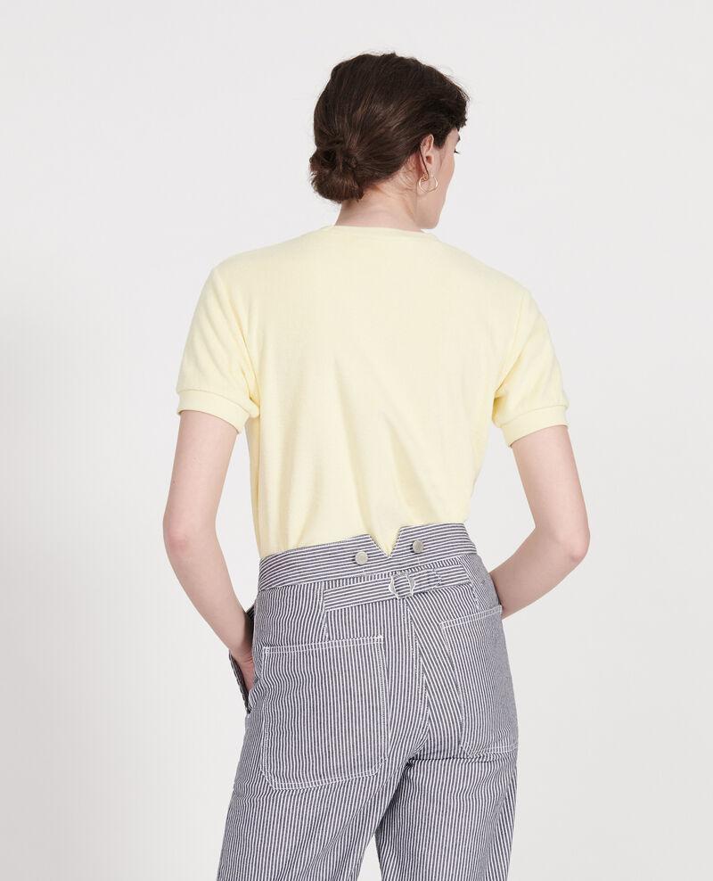 Camiseta de algodón Tender yellow Lis