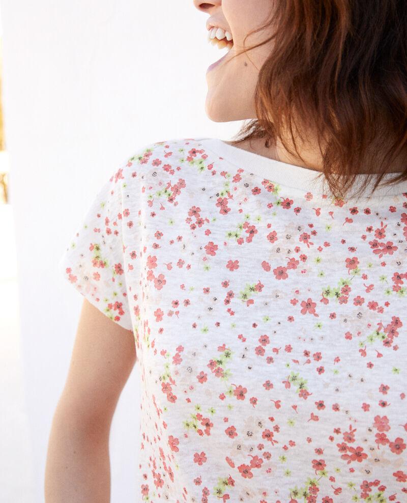 Camiseta de cuello barco Primula ow Idilika